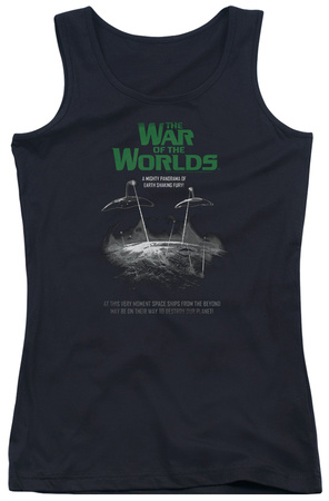 Juniors Tank Top: War Of The Worlds – Attack Poster Tank Top