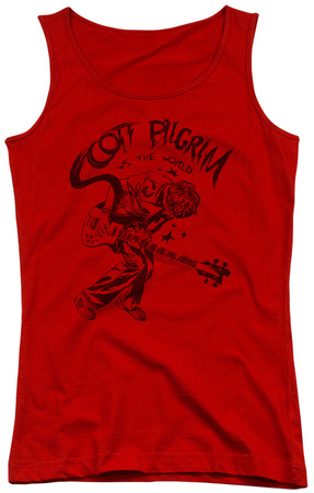 Juniors Tank Top: Scott Pilgrim - Rockin Womens Tank Tops