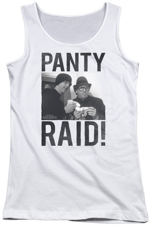 Juniors Tank Top: Revenge Of The Nerds - Panty Raid Tank Top