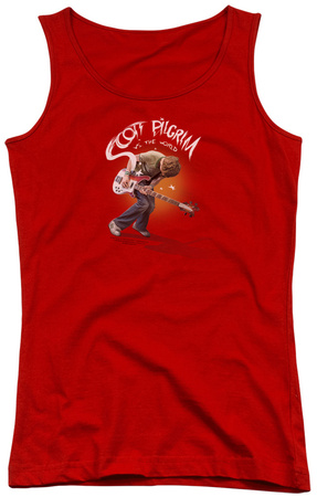 Juniors Tank Top: Scott Pilgrim - Scott Poster Womens Tank Tops