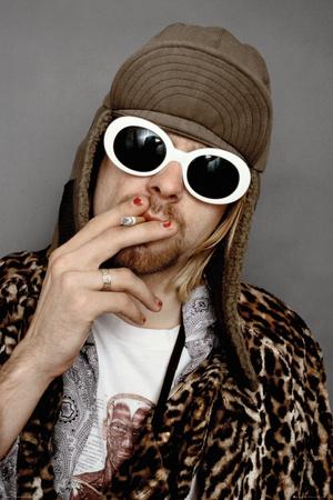 Kurt Cobain Colour Prints