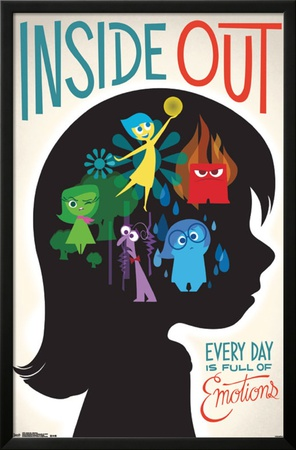 Inside Out - Emotions Posters