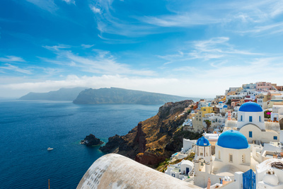Santorini,Greece Photographic Print by Pavel Timofeev