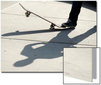 Feature Sport Skateboarding Hoffart Posters by Mike Blake