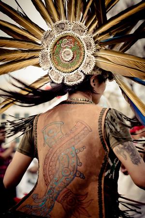Native Aztec Dance Photographic Print by  EvanTravels
