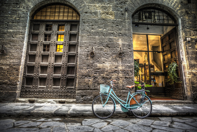Streets of Florence Photographic Print by  mwillenbrink