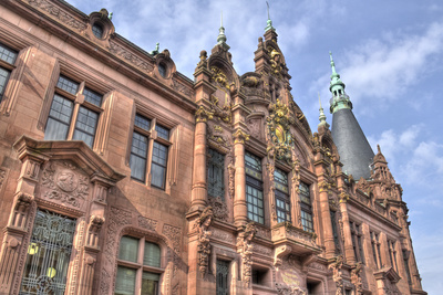 Heidelberg University, Germany Photographic Print by Jan Kranendonk