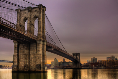 Brooklyn Bridge - New York City, Ny, USA Photographic Print by  EvanTravels