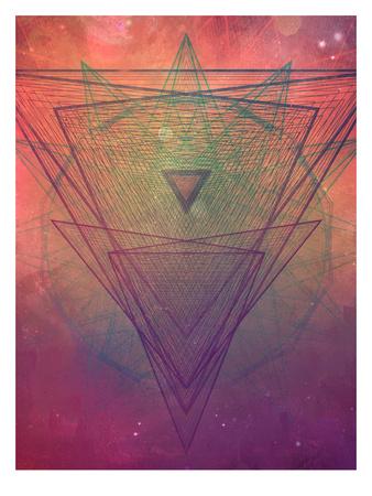 pyrymyd xrayyll Prints by  Spires