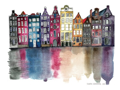 Amsterdam Prints by Claudia Libenberg