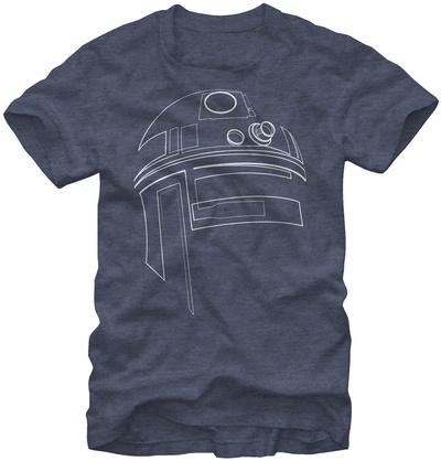 Star Wars-Simple R2D2 T-Shirts