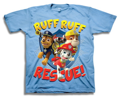 Toddler: Paw Patrol- Ruff Ruff Rescue Shirts