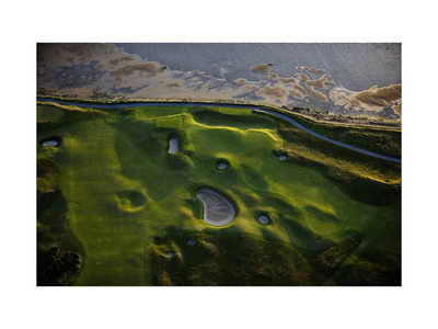 The Old Course Giclee Print by Dom Furore