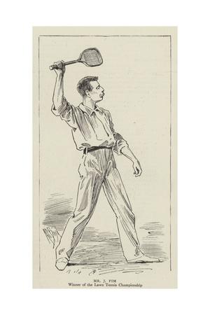 Mr J Pim Giclee Print by Alexander Stuart Boyd