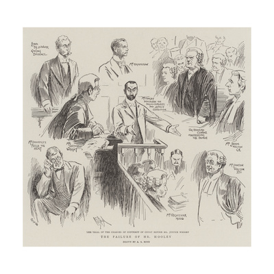 The Failure of Mr Hooley Giclee Print by Alexander Stuart Boyd