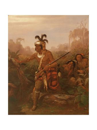 Chief Billy Bowlegs, 1861 Giclee Print by Charles Ferdinand Wimar