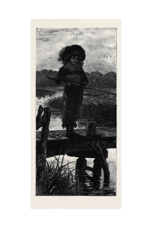 Patience on a Monument. from the Exhibition at the Dudley Gallery 1879 Giclee Print by Charles Trevor Garland