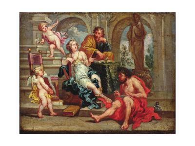 Rhetoric Giclee Print by Cornelius I Schut
