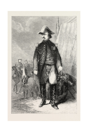 Portrait of Marshal Canrobert, for the Gallery of Versailles, 1860 Giclee Print by Emile Antoine Bayard