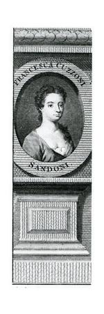 Francesca Cuzzoni (1696-1778) Giclee Print by Enoch Seeman