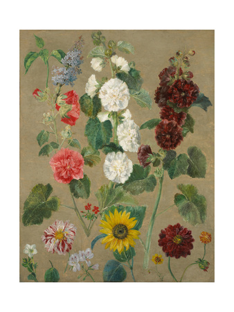 Untitled (Flowers) Giclee Print by Ferdinand Victor Eugene Delacroix