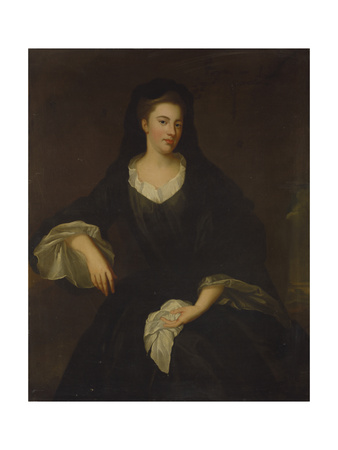 Portrait of Mary Fitzgerald, Dowager Countess of Fingall, C.1735 Giclee Print by Enoch Seeman