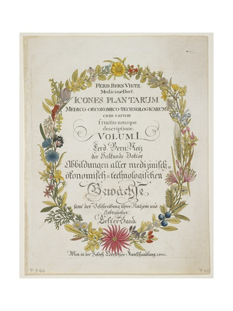 Frontispiece and Title Page Giclee Print by Ferdinand Bernhard Vietz
