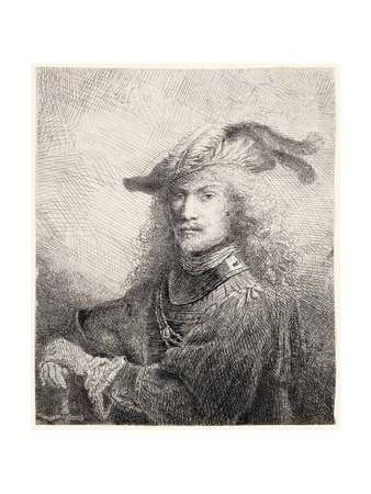 Portrait of an Officer, 1642 Lámina giclée por Ferdinand Bol