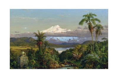 Cayambe, 1858 Giclée-Druck von Frederic Edwin Church