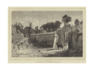 Au Revoir Giclee Print by Frederick George Cotman
