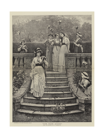 The Rose Queen Giclee Print by George Dunlop Leslie