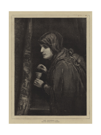 The Poisoned Cup Giclee Print by George Henry Boughton