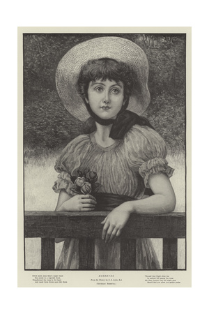 Rosebuds Giclee Print by George Dunlop Leslie