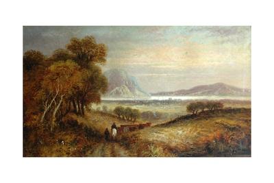 Landscape, C.1855 Giclee Print by George Dunlop Leslie