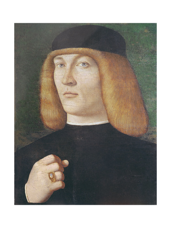 Portrait of a Young Man Giclee Print by Gentile Bellini