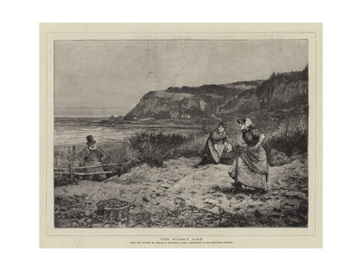 The Widow's Acre Giclee Print by George Henry Boughton