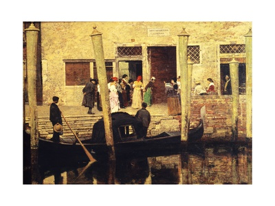 Waiting for the Bride, 1879 Giclee Print by Giacomo Favretto