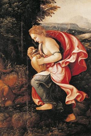 Pandora, 16th Century Photographic Print by Giulio Romano