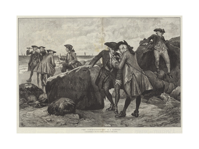 The Conchologists Giclee Print by Henry Gillard Glindoni