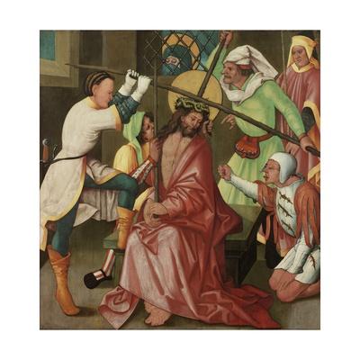 The Reviling of Christ, C.1510-30 Giclee Print by Hans Leonard Schaufelein