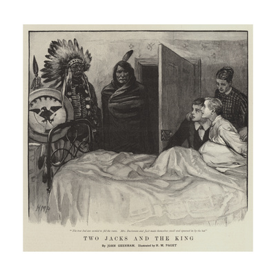 Two Jacks and the King Giclee Print by Henry Marriott Paget