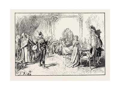 Proscribed: an Incident in the French Revolution 1796 Giclee Print by Henry Gillard Glindoni