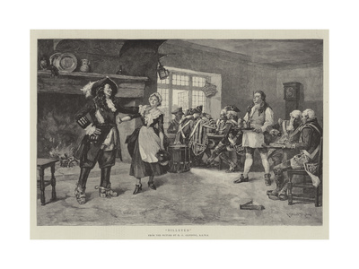 Billeted Giclee Print by Henry Gillard Glindoni