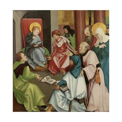 Christ in the Temple, C.1510-30 Giclee Print by Hans Leonard Schaufelein
