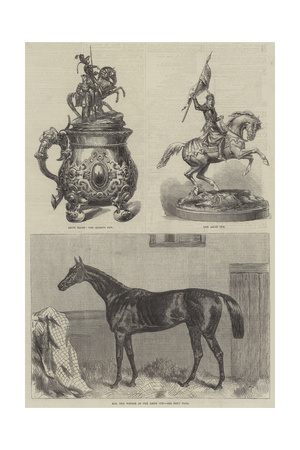 Ascot Cup Giclee Print by Harry Hall