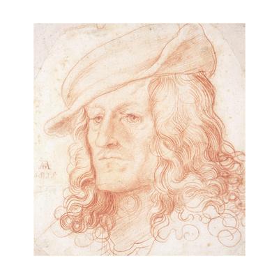 Portrait of a Man, Bust-Length, Wearing a Hat Giclee Print by Hans Leonard Schaufelein