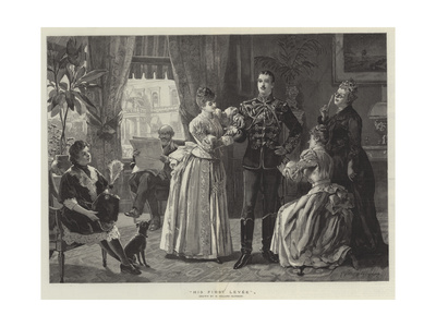 His First Levee Giclee Print by Henry Gillard Glindoni