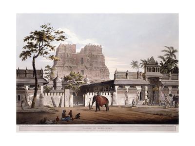 Pagoda at Ramisseram, 1803 Giclee Print by Henry Salt