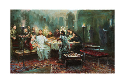 Last Supper, 1903 Giclee Print by Ilya Efimovich Repin