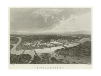 St Petersburg Giclee Print by J Ramage